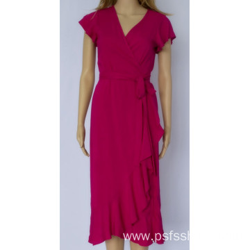 Ladies Fish Tail V Neck Dress
